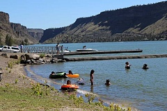 HOLLY M. GILL - The Cove Palisades area is now included in the Oregon Health Authority's advisory for the presence of blue-green algae.
