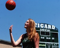 DAN BROOD - Elise Conroy was a four-year standout for the Tigard High School girls basketball and girls track and field teams.