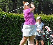 COURTESY OGA - Oregon City 14-year-old Brady Turnquist proved herself one of the top young golfers in the state at the recent Oregon Junior Amateur, placing second in the intermediate age division.