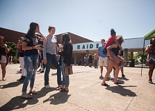 PMG FILE PHOTO - Reynolds High School students enjoy the last day of school.