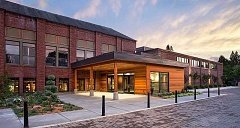PHOTO COURTESY OF SCOTT EDWARDS ARCHITECTURE - The Chehalem Cultural Center project has netted Scott Edwards Architecture a top award from the Golden Nugget design awards, which noted the building's reuse of old materials during the rehabilitation.
