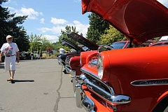 NEWS-TIMES FILE PHOTO - Last year's Cruisin' the Grove featured a plethora of classic cars to whet enthusiasts' appetites for the main event, Concours d'Elegance.