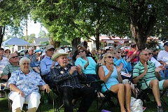 CENTRAL OREGONIAN FILE PHOTO - Spectators enjoy a concert during the 2015 series. Picnic in the Park typically draws a large crowd.