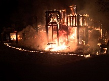 PMG FILE PHOTO - Imagination Station partially burned to the ground in April.