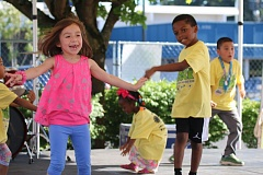 COURTESY PHOTO - Rockwood kids play during the 2016 Rock the Block event which is held annually at the future site of the Rockwood Rising neighborhood hub.