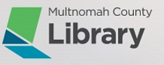 COURTESY PHOTO - The Multnomah County Library's new logo could be a laptop, book or even a window.
