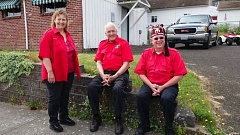 CONTRIBUTED PHOTO - The Al Kader Shriners have the most fun helping kids in Troutdale.