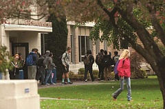 PMG FILE PHOTO - Gresham High School students leave class in 2015.