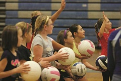 PHIL HAWKINS - Woodburn High School volleyball coach Doyle Tracy will once again be hosting a skills camp for elementary and middle school student athletes prior to the fall season.