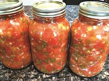 SUBMITTED PHOTO - How to keep items, such as homemade salsa, safe for the long-term is just one of the many bits of advice people can get from OSU food preservation hotline that is up and running.