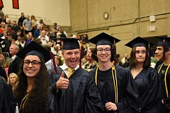 CLACKAMAS COMMUNITY COLLEGE - Clackamas Community CollegeCclass of 2016 graduates ham it after their graduation ceremony in May.