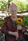 SPOTLIGHT PHOTO: COURTNEY VAUGHN - Hazel Stanley of Scappoose plans to celebrate her 100th birthday this weekend with friends and family. Stanley lives at Brookdale Rose Valley.