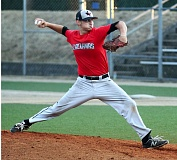 DEBORA MEHLHAFF - Junior Greg Mehlhaff had a huge summer for the Clackamas High Outlaws, going 7-1 with a 1.76 ERA, and leading the team with a .418 batting average.