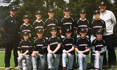 SUBMITTED - Clackamas Senior Federal Division baseball players proved themselves one of the top 14-year-old teams in the state in 2016, placing third - behind Sprague and Sherwood - at the state championship tournament. Pictured are members of the team: (first row, left to right) Robby Butenschoen, Jackson Jaha, Payton Jameson, Mitchell Dorn, Brody Upton and Willy Lindholm; and (second row) manager Rob Butenschoen, Pierce Kurasz, Carson Moffett, Austin Atkeson, Richard Kennewell, Josh Long, Kian Khorasani and coach Jason Carroll.