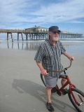 CONTRIBUTED PHOTO: JERRY POLZIN - Jerry Polzin rides a bike during one of his many adventures with his wife, Gloria.