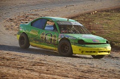 JOHN BREWINGTON - Bob Berg won the 4-Cylinder Division main event at River City Speedway on Saturday to maintain a slim points advantage over Shelby Wegner. The next race at the Columbia County Fairgrounds track is Aug. 13.