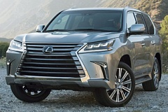 TOYOTA MOTOR SALES USA - The Lexus LX 570 has been almost completely restyled for 2016 to better match the company's other sharply chiseled models. It is still one of the largest and most off-road capable SUVs on the market.