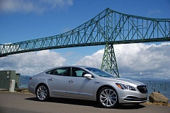 PORTLAND TRIBUNE: JEFF ZURSCHMEIDE - The completely redesigned 2017 Buick LaCross offers everything the owner of a full-size luxury car could want, all at a very reasonable price, includng optional all-wheel-drive.