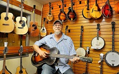 GARY ALLEN - He started out as an employee at the Newberg Music Center, but local musician Bobby Turner began buying into ownership a few years after starting the job and is now a half-owner of the business.