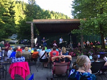 CONTRIBUTED PHOTO - The ninth annual Party on the Patio event at the Zig Zag Inn in Welches raised over $20,000 for Mt. Hood Hospice.