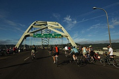 COURTESY PHOTO - The Providence Bridge Pedal will draw thousands of cyclists to Portland's bridges, Saturday, Aug. 13.