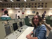 SUBMITTED PHOTO - ACMA student Hanna Galimanis spent part of her summer working on an aerospace  internship with NASA in Texas.