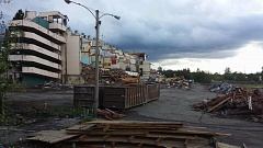 TROY CRIVELLONE - The partially-demolished Multnomah Greyhound Park, as seen on Aug. 8.