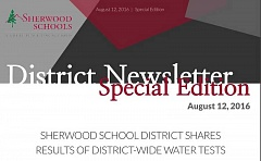 COURTESY OF SHERWOOD SCHOOL DISTRICT - Consultants hired by the Sherwood School District found elevated amounts of lead in three water fixtures at Middleton, Hopkins and Archer Glen elementary schools.