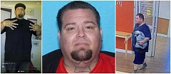 SUBMITTED PHOTO - The Oregon Department of Corrections released photographs of escapee Jasson Ray from Facebook (left), his booking (center) and from a local hospital's surveillance camera taken shortly after he walked away from a work crew.