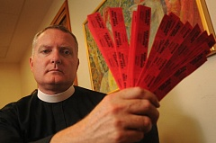FILE PHOTO - The Rev. Jeremy Lucas spent $3,000 out of a church discretionary fund on a Gresham softball team's rifle raffle.