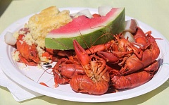 JEFF WILSON - The annual Culver Crawdad Festival is set for Saturday, Aug. 20, beginning with a bicycle ride at 7 a.m., followed by a parade in downtown Culver at 10 a.m., and the crawdad feast in the Culver park from 11 a.m. to 4 p.m. Park events wrap up at 5 p.m.