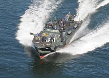 SUBMITTED PHOTO - PT 658 is the only World War II patrol torpedo boat in the world operating under the power of its original Packard V-12 engines.