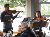 COURTESY OF CLASSICAL UP CLOSE - Classical Up Close plays concert all over the Portland metro area, including at Symposium Coffee in Tigard.