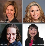 CITY OF MILWAUKIE - Alice Cannon, Nancy Newton, Ann Ober and Julie Underwood are the four finalists for Milwaukie's next city manager.