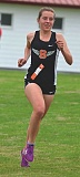 SPOTLIGHT FILE PHOTO: JOHN BREWINGTON - Indians junior Linnaea Kavulich can win her third Cowapa League championship in a row and Scappoose's first individual cross country state championship this season.
