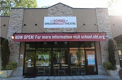 SUBMITTED PHOTO  - The School of Oregon Ballet Theatre will hold an open house at its West Linn studio Aug. 31. All are invited to tour the studio and learn about the dance programs offered.
