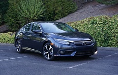 PORTLAND TRIBUNE: JEFF ZURSCHMEIDE  - The 2016 Honda Civic has been redesigned to be longer, wider and a whole lot sportier looking.
