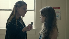 PUBLICITY STILL - Katee Sackhoff, left, and Jade Pettyjohn star in 'Girl Flu,' an independent film being shown Sunday evening at the Portland Film Festival.