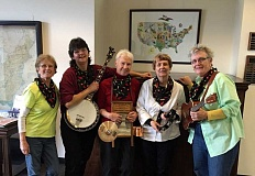SUBMITTED PHOTO - The all-female Pickled Pepper Kitchen Band will play at the Lake Oswego Public Library at 1 p.m. Sept. 14.