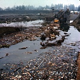 COURTESY DEQ - This is how the Johnson Creek Landfill appeared in January 1971, according to a photo uncovered in Oregon Department of Environmental Quality records.