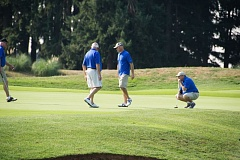 SUBMITTED PHOTOS - Golfers enjoy the game while playing in last year's Drive Out Ovarian Cancer Golf Tournament; this year's event is Sept. 9.
