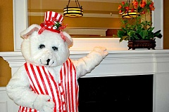 SUBMITTED PHOTO  - Auditions for Lakewood Theatre Companys popular Holiday Breakfast production, featuring The Peppermint Bear, will be held Sept. 25.