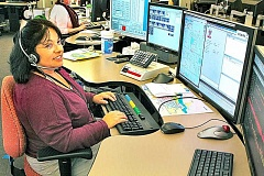 PMG FILE - Upgrades to the Washington County Consolidated Communications Agency's dispatch and radio systems are planned to be in place by 2019, meaning the Newberg dispatch center faces some potentially steep upgrade costs to remain communicative with the neighboring agency.