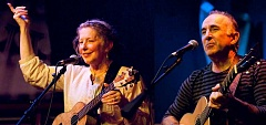 SUBMITTED PHOTOS:  - Sharing the stage will also be Kate Power and Steve Einhorn, presenting quality folk music.