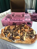 COURTESY: PORTLAND STATE UNIVERSITY - These Voodoo Doughnuts are made from a special ingredient - flour made from dried crickets.