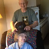 ESTACADA NEWS PHOTO: EMILY LINDSTRAND - Phyllis Harrington and her husband Ken have lived at Grace Place Senior Living since April. The two have been married for 68 years.