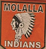 MHS - Molalla High School may keep the name 'Indians' but as part of the potential agreement, this school will be required to eliminate the current mascot imagery.