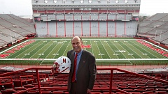 COURTESY: UNIVERSITY OF NEBRASKA - Coach Mike Riley has a lot of other former Oregon Staters with him at Nebraska.