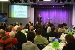 CONTRIBUTED PHOTO - The Gresham Area Chamber of Commerce East County Economic Summit in 2009.