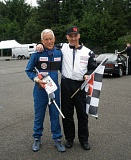 COURTESY SUE LASZLO  - Lans and his son Lansing Stout will be racing together at the Sports CAr Club of America National Championships this coming weekend,